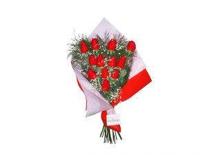 docena de rosas para los desayunos